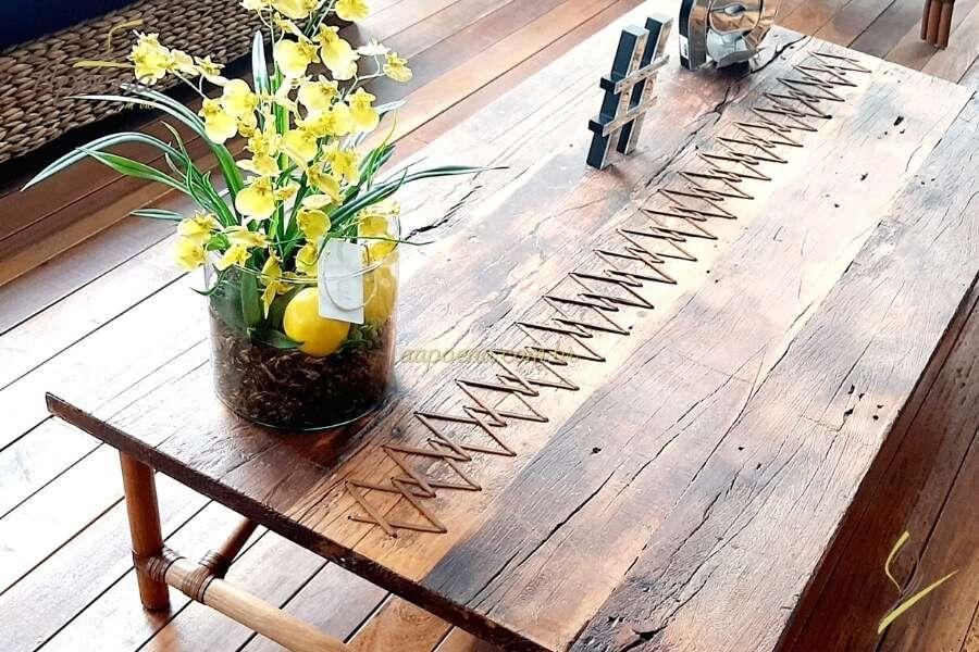 Seis motivos para usar moveis artesanais na sua decoração